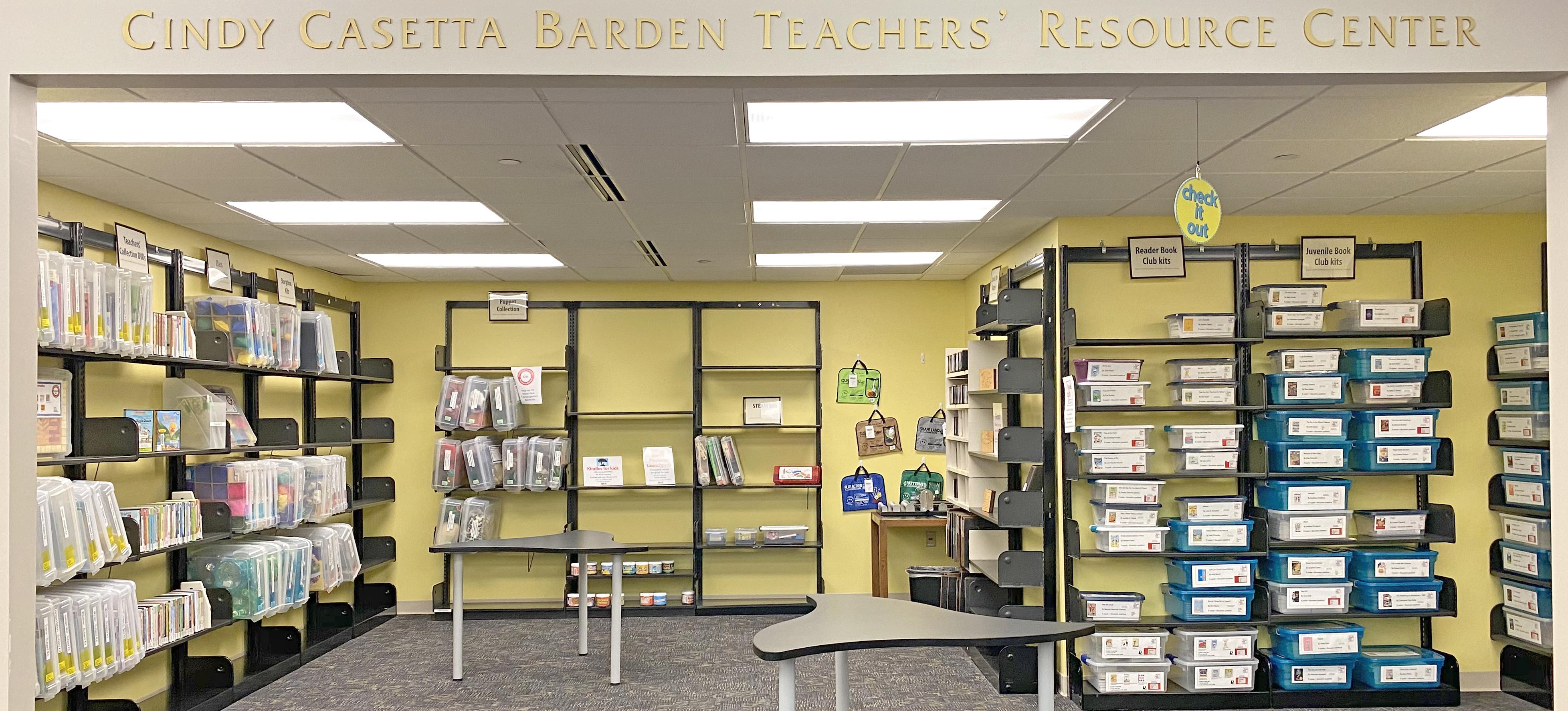 Cindy Casetta Barden Teacher Resource Center