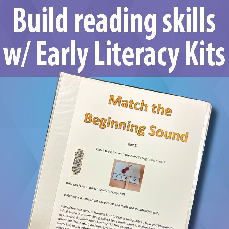 FDLPL's Early Literacy Kits build beginning reading skills