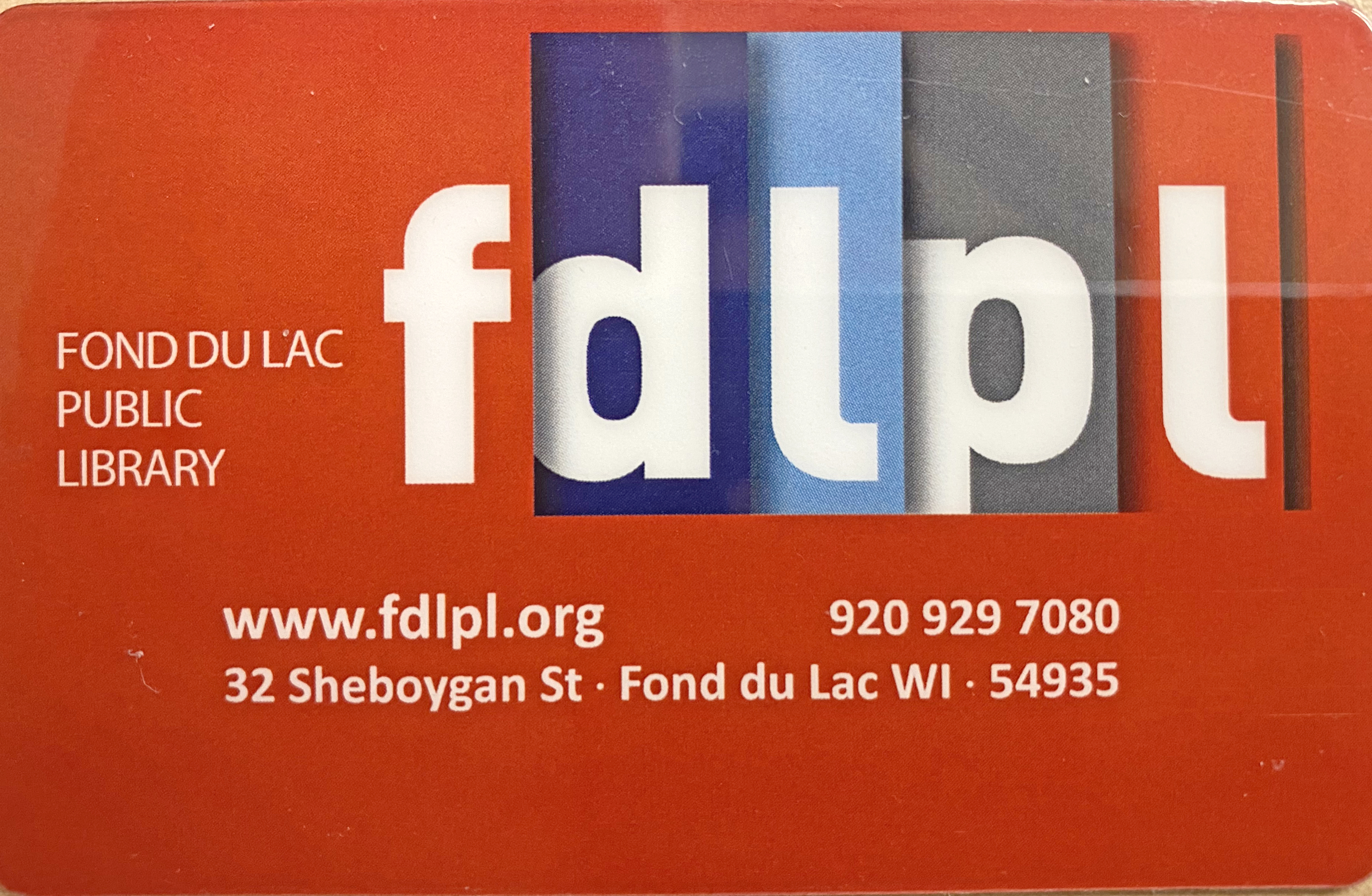 Sign up for a card at FDLPL during Library Card Sign-Up Month