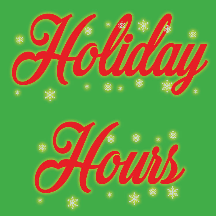 Holiday hours set for FDLPL and FDLPL Express
