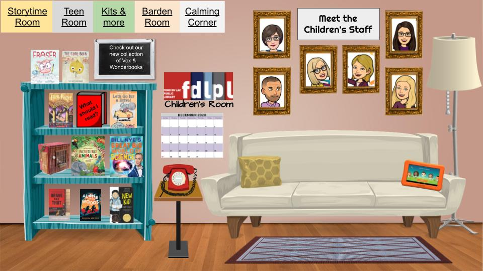 FDLPL's Virtual Children's Library will 'open' in January